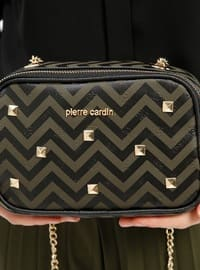 Khaki - Shoulder Bags - Pierre Cardin