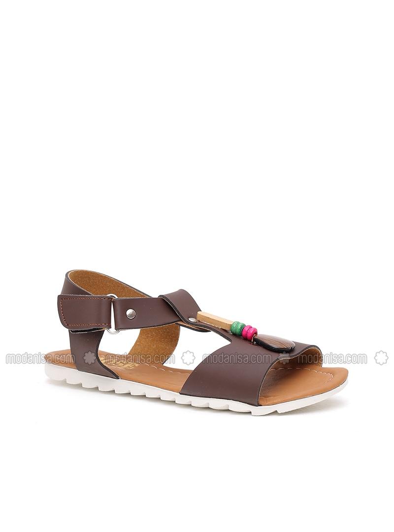 Marron Beige Marron Sandales Chaussons Beige Chaussons Sandales Sandale 8nwvPymON0