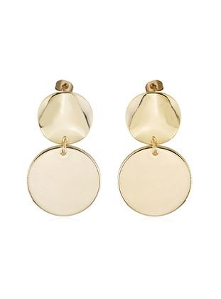 Golden tone - Earring - Aksesuar Aşkı
