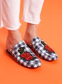 Navy Blue - Sandal - Slippers