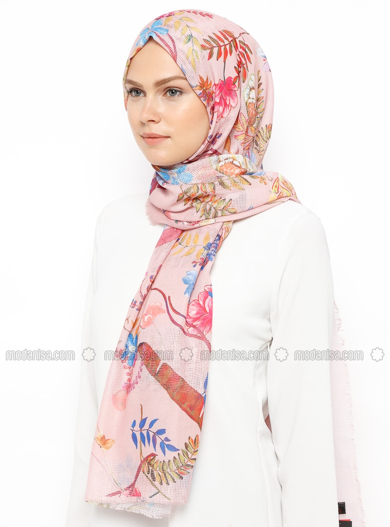 Powder - Printed - Shawl