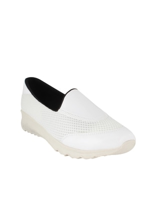 İnan Ayakkabı Babet - Beyaz