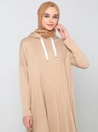 Camel - Viscose - Tracksuit Set