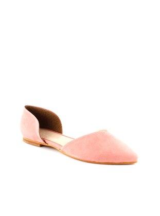 İnan Ayakkabı Babet - Pudra Süet