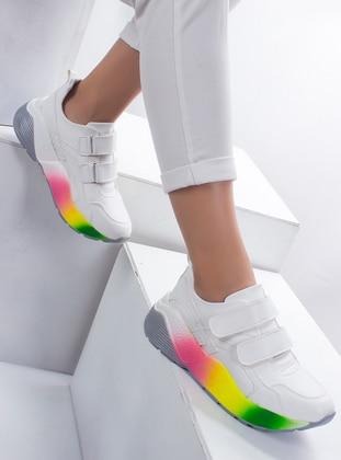 Ayakkabı - Beyaz - Ayakkabı Havuzu Ürün Resmi