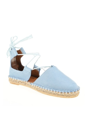 Baby Blue - Flat - Flat Shoes