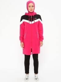 Pink - Fuchsia - Tracksuit Set
