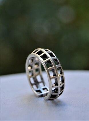 Stoneage Bohem Yüzük - Gümüş