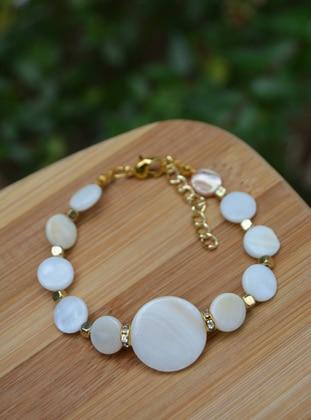 White - Bracelet - Stoneage