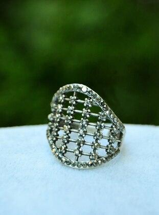 Stoneage Zirkon Taşlı Yüzük - Gümüş