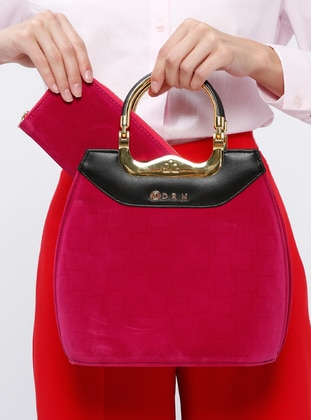 Pink - Fuchsia - Shoulder Bags