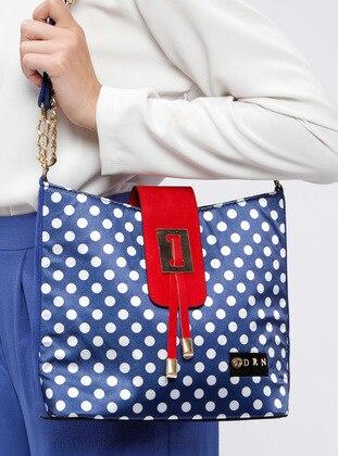 Blue - Navy Blue - Shoulder Bags