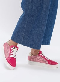 Pink - Fuchsia - Sport - Sports Shoes