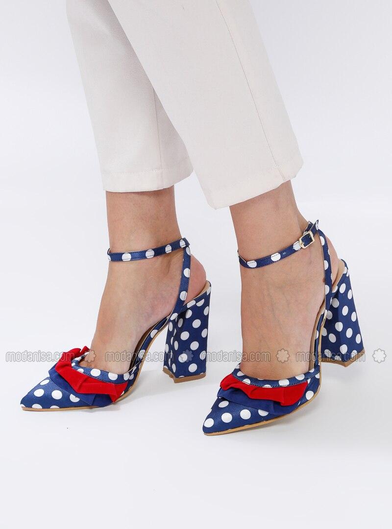 Blue - Navy Blue - High Heel - Heels