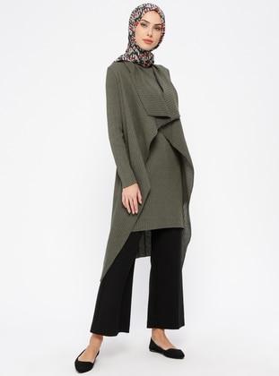 Khaki - Unlined - Cotton - Suit