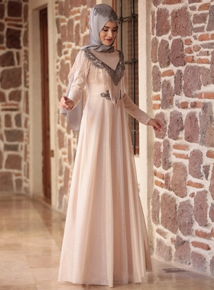Robe soire hidjab