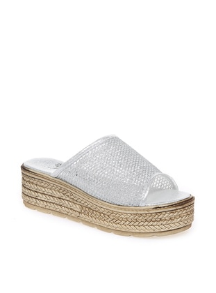 Lamé - Sandal - Slippers