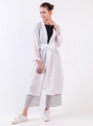 Kimono - Beyaz - Akel Ürün Resmi
