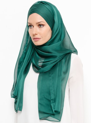 Emerald - Plain - Instant Scarf