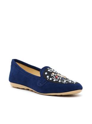 Ayakkabı Modası Babet - Lacivert