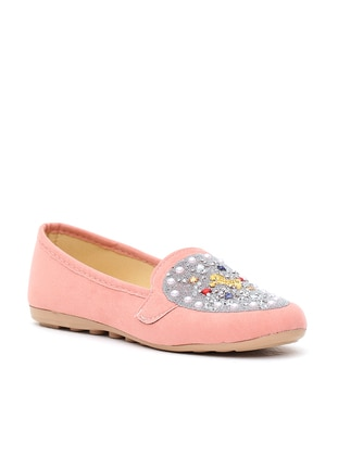 Ayakkabı Modası Babet - Pudra