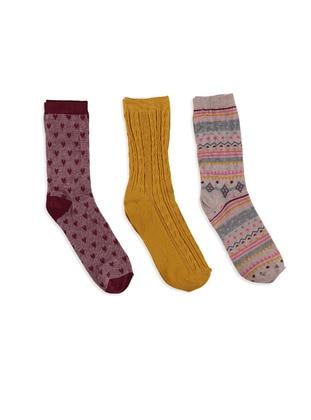 Çorap 3`lü - Kahverengi - LC WAIKIKI Ürün Resmi