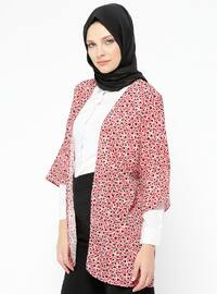 Red - Multi - Unlined - Cotton - Jacket