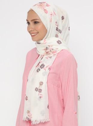 Multi - Floral - Shawl