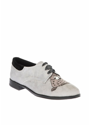 Gray - Casual - Shoes