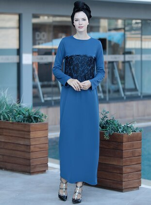 Indigo - Crew neck - Dresses