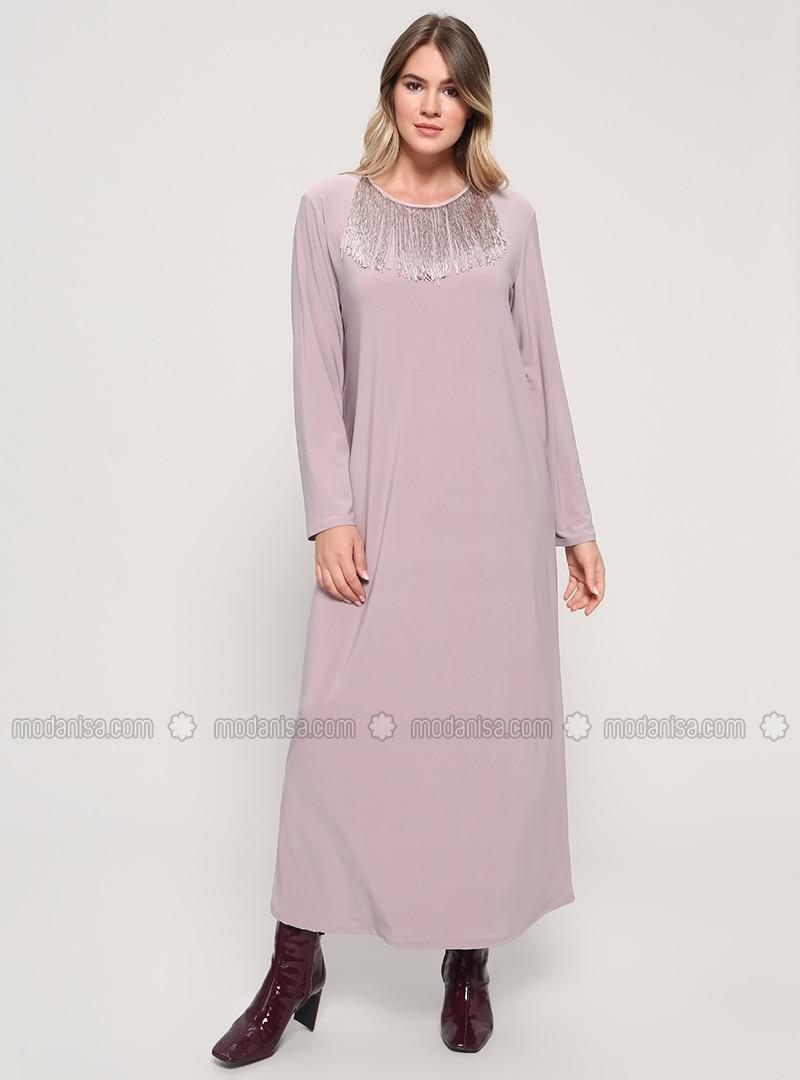 Minc - Unlined - Crew neck - Plus Size Dress