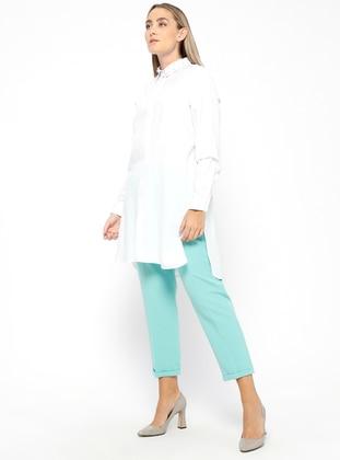 Mint - Plus Size Pants