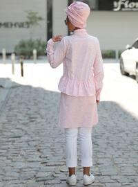 Powder - Multi - Point Collar - Cotton - Tunic