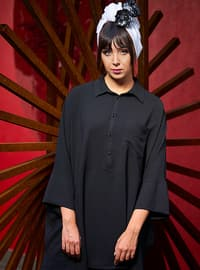 Black - Unlined - Crepe - Suit
