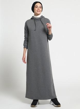 Anthracite – Cotton – Dresses – Everyday Basic