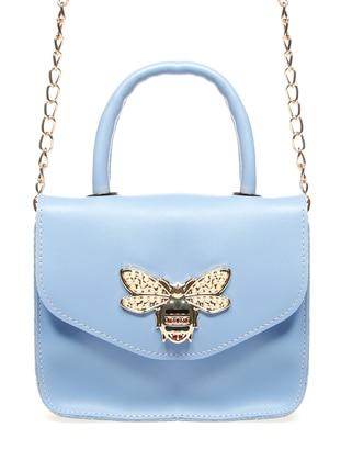 Omuz Çantası - Bebe Mavisi - Housebags Ürün Resmi