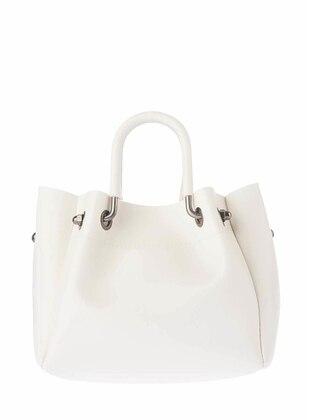 Omuz Çantası - Beyaz - Housebags Ürün Resmi