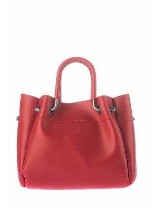 Omuz Çantası - Kırmızı - Housebags Ürün Resmi