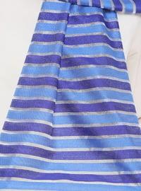 Saxe - Striped - Shawl