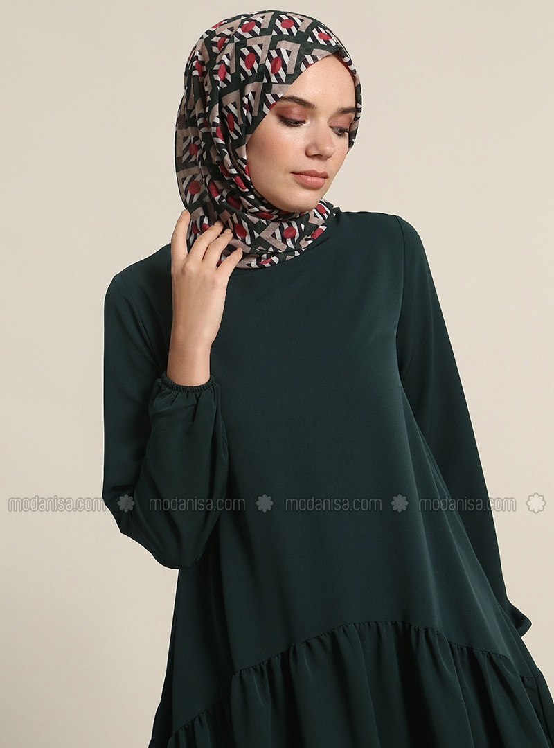 Emerald - Crew neck - Tunic