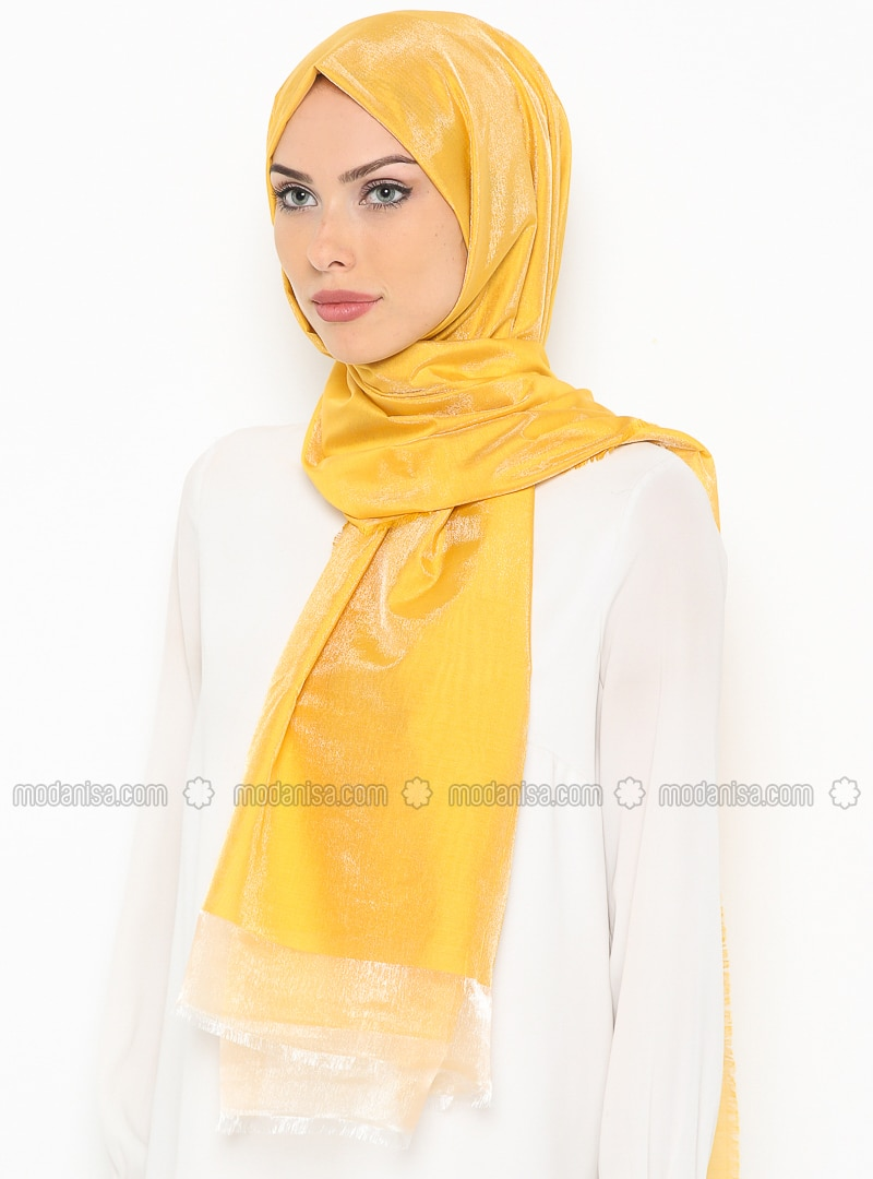 Golden tone - Plain - Shawl
