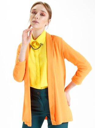 Orange - Unlined - Jacket