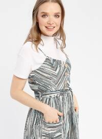 Mint - Stripe - Fully Lined - Dresses