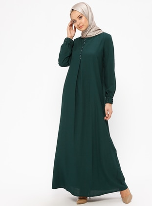 Emerald - Crew neck - Unlined - Dresses