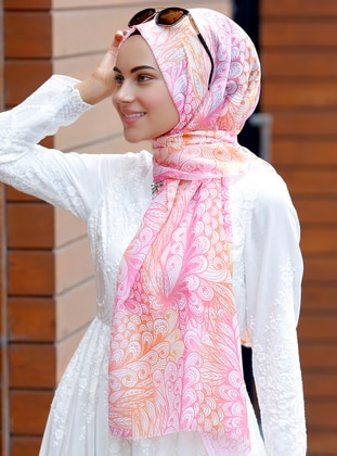 Multi - Printed - Shawl