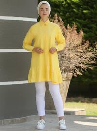 Yellow - Point Collar - Tunic