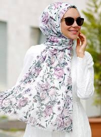 Multi - Floral - Shawl - Şal Evi
