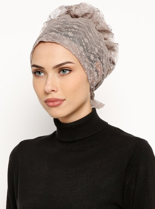 Minc - Lace up - Lace - Bonnet