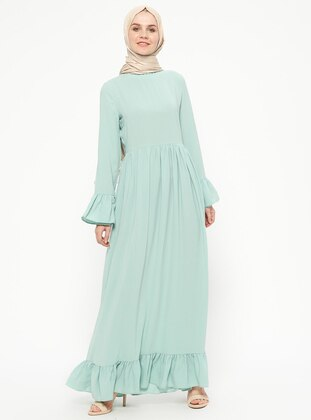 Mint - Polo neck - Unlined - Dresses