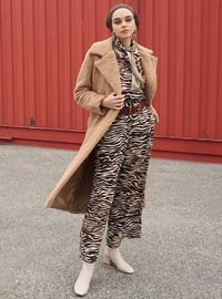 Brown - Leopard - Pants